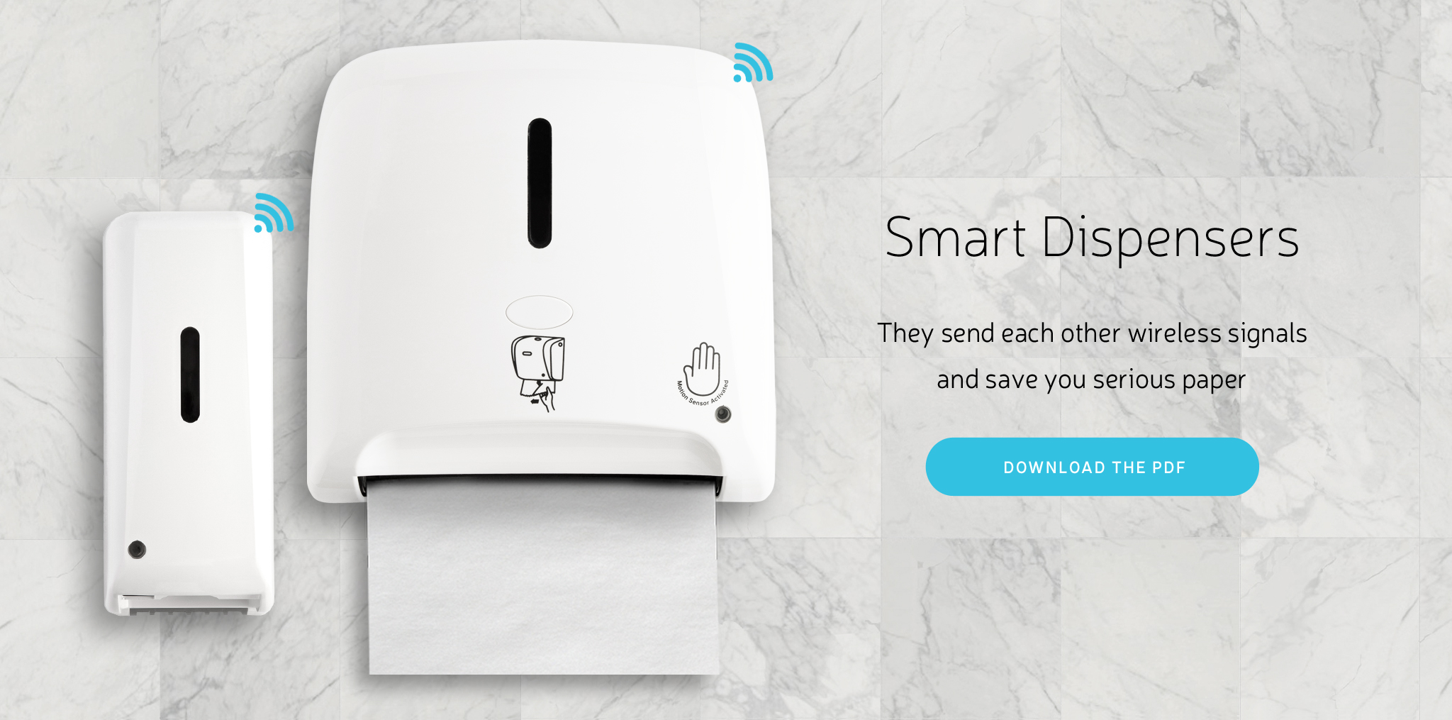 Smart Dispensers, Save Some Serious Paper