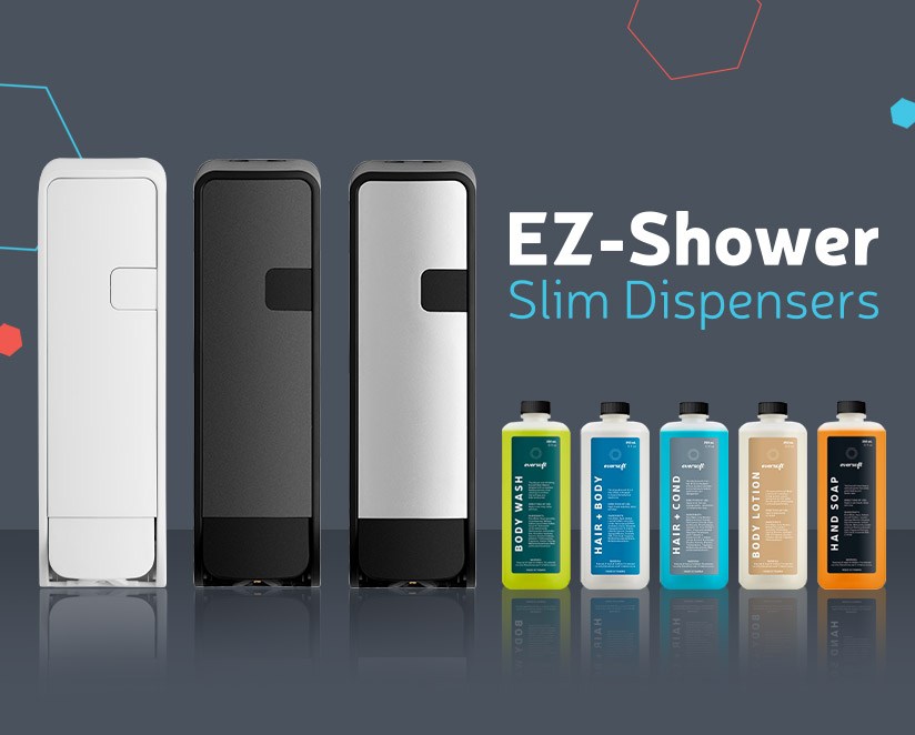 EZ-Shower Slim Dispensers